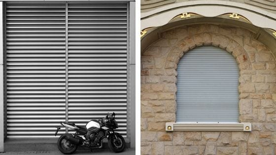 Interior Roller Shutters and Exterior Roller Shutters