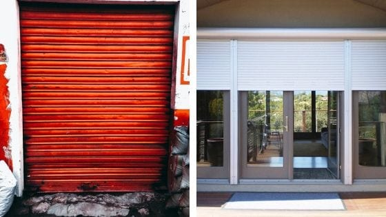 Manual Roller Shutters and Automatic Roller Shutters