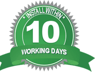 Install Within 10 Days Badge