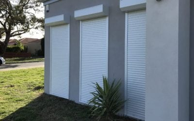 Roller Shutters and Curb Appeal